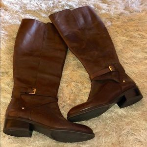New Ralph Lauren Brown Leather Riding Boots sz 8